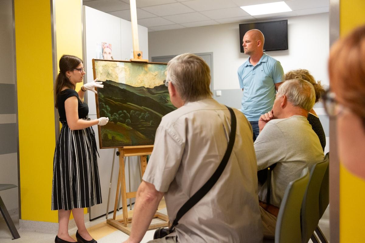 spotkanie z konserwatorami dzieł sztuki