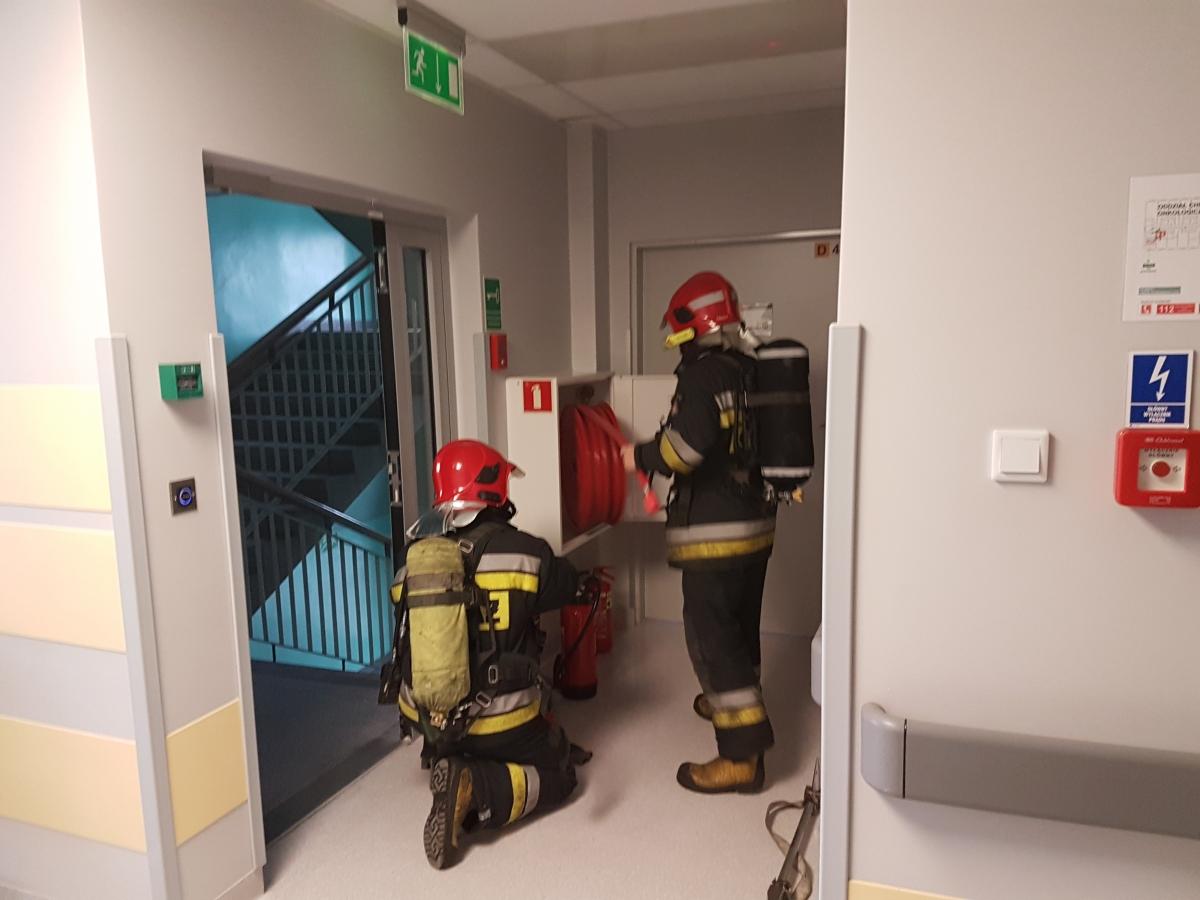 Ćwiczenia ewakuacyjne
