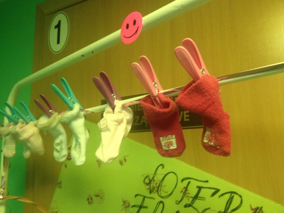 niemowlęce skarpetki